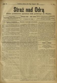 Straż nad Odrą, 1908, R. 6, nr 143