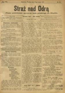 Straż nad Odrą, 1910, R. 8, nr 38