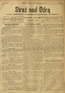 Straż nad Odrą, 1910, R. 8, nr 42