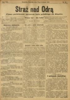 Straż nad Odrą, 1910, R. 8, nr 51