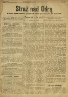 Straż nad Odrą, 1910, R. 8, nr 70