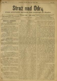 Straż nad Odrą, 1910, R. 8, nr 80