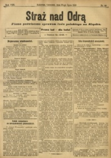 Straż nad Odrą, 1910, R. 8, nr 90