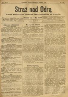 Straż nad Odrą, 1910, R. 8, nr 107