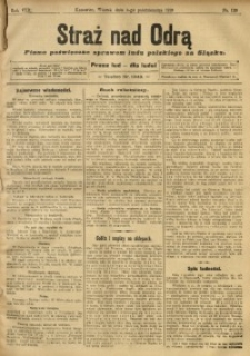 Straż nad Odrą, 1910, R. 8, nr 119