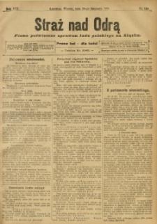 Straż nad Odrą, 1910, R. 8, nr 143