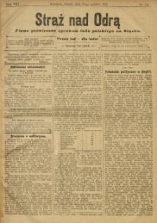 Straż nad Odrą, 1910, R. 8, nr 154