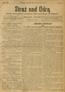 Straż nad Odrą, 1910, R. 8, nr 155