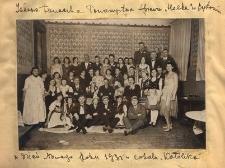 """Zabawa taneczna Towarzystwa Śpiewu """"Halka"""" w Bytomiu w dzień Nowego Roku 1931 w lokalu """"Katolika"""""""