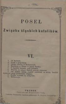 Poseł Związku Śląskich Katolików, 1886, VI-VII