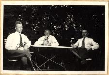 """P. Frayer, Wachmistrz Pollok i p. Olszowski. W """"Monte Carlo"""" (Złotnik pod Pruszkowem)"""