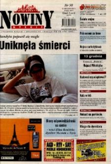 Nowiny Nyskie 2003, nr 50.