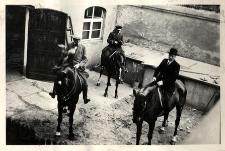 Pp. Kattelbach, wachmistrz Pollok i Leon Malhomme