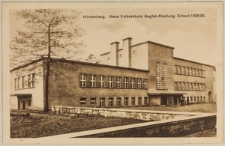 Hindenburg. Neue Volksschule Gagfah-Siedlung. Erbaut 1928/29