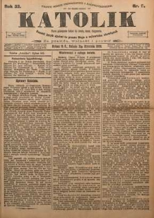 Katolik, 1899, R. 32, nr 9