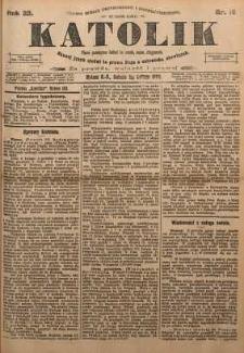 Katolik, 1899, R. 32, nr 18