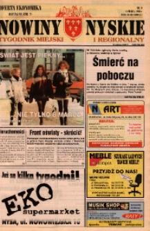 Nowiny Nyskie : tygodnik miejski i regionalny 1996, nr 11.