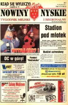Nowiny Nyskie : tygodnik miejski i regionalny 1997, nr 2.