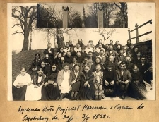 Wycieczka Koła Przyjaciół Harcerstwa w Bytomiu do Częstochowy dn. 30/IV-3/V 1932 r.