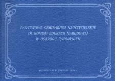 Państwowe Seminarium Nauczycielskie im. Komisji Edukacji Narodowej w Ostrogu nad Horyniem.