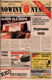 Nowiny Nyskie : tygodnik miejski i regionalny 1996, nr 21.