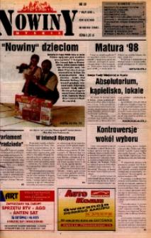 Nowiny Nyskie 1998, nr 18.