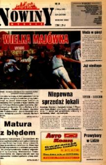 Nowiny Nyskie 1998, nr 19.