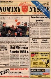 Nowiny Nyskie : tygodnik miejski i regionalny 1996, nr 23.