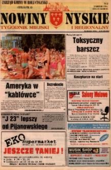 Nowiny Nyskie : tygodnik miejski i regionalny 1996, nr 35.