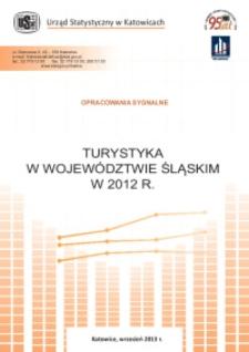Turystyka w województwie śląskim w 2012 r.