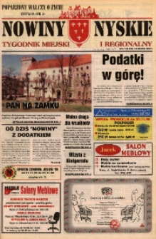 Nowiny Nyskie : tygodnik miejski i regionalny 1996, nr 47.