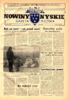 Nowiny Nyskie : gazeta miejska 1992, nr 2 (710).