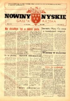 Nowiny Nyskie : gazeta miejska 1992, nr 3 (711).