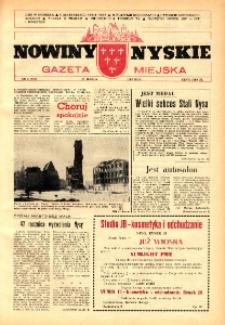 Nowiny Nyskie : gazeta miejska 1992, nr 8 (716).