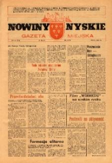 Nowiny Nyskie : gazeta miejska 1992, nr 12 (720).