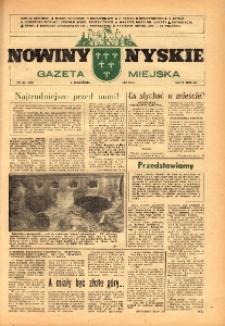 Nowiny Nyskie : gazeta miejska 1992, nr 21 (729).