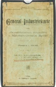 General-Industriekarte vom oberschlesischen, russischen u. Mährisch-Ostrauer Revier