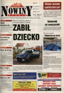 Nowiny Nyskie 2001, nr 5.