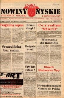 Nowiny Nyskie : gazeta miejska 1994, nr 34.