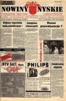 Nowiny Nyskie : gazeta miejska 1994, nr 47.