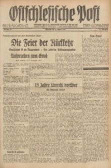 Ostschlesische Post, 1935, Jg. 26, Nr. 13