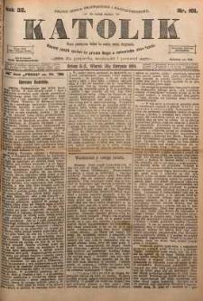 Katolik, 1899, R. 32, nr 101
