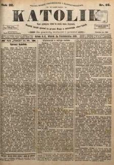 Katolik, 1899, R. 32, nr 116