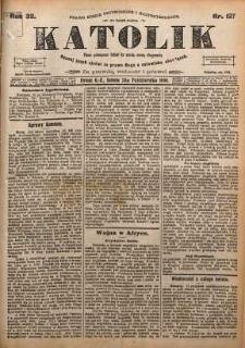 Katolik, 1899, R. 32, nr 127
