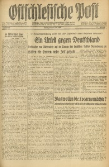 Ostschlesische Post, 1936, Jg. 27, Nr. 67