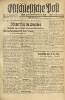 Ostschlesische Post, 1936, Jg. 27, Nr. 166