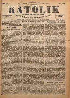 Katolik, 1899, R. 32, nr 149