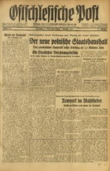 Ostschlesische Post, 1936, Jg. 27, Nr. 257
