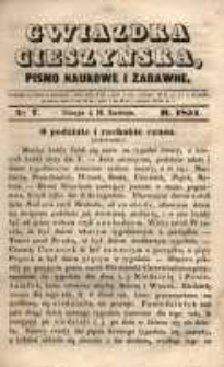 Gwiazdka Cieszyńska, 1851, nr 7