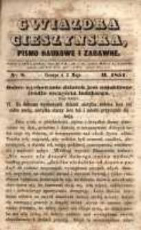Gwiazdka Cieszyńska, 1851, nr 8